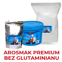 Bez glutaminianu -wersja wzmocniona,o zwiększonej zawartości warzyw, produkt nie zawiera w swoim składzie glutaminianu