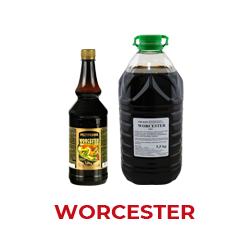 Worcester sos- przyprawa smakowa do sałatek, wołowiny oraz innych potraw w różnych wersjach    Wersja super  - wersja wzmocniona, tradycyjny bukiet aromatyczno smakowy