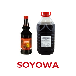 SOYOWA Przyprawa Do Zup i Potraw w Płynie w różnych wersjach    Wersja standard  - zawiera podstawowe składniki i standardowy bukiet aromatyczno smakowy
