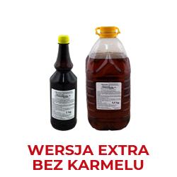 Bez karmelu -wersja wzmocniona w stosunku do wersji standard,tradycyjny bukiet aromatyczno smakowy, produkt nie zawiera w składzie karmelu