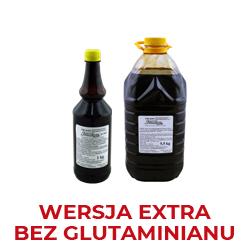 Bez glutaminianu -wersja wzmocniona w stosunku do wersji standard,tradycyjny bukiet aromatyczno smakowy, produkt nie zawiera w składzie glutaminianu