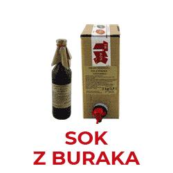 Sok Z Buraka Kiszonego produkowany na bazie naturalnych surowców, bez dodatków konserwujących, niepasteryzowany