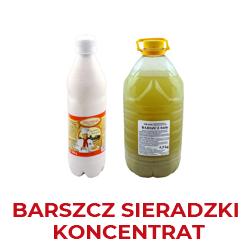 Barszcz Sieradzk i produkowany w oparciu o tradycyjne receptury
